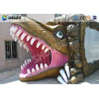 Buy cheap Mini Cinema 5D Simulator Movie Theatre With Dinosaur Design Cabin product