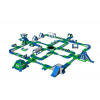 Buy cheap Giant Inflatable Floating Water Park Equipment For Beach Amusement from wholesalers