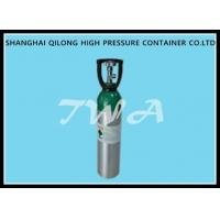 Buy cheap 10L AA6061 Aluminum Gas Cylinder / refillable aluminum oxygen tank product