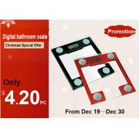 Buy cheap Portable Electronic Glass Bathroom Scale XJ-3K813 from wholesalers