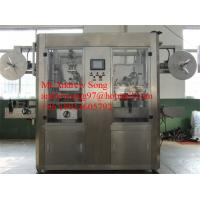 Buy cheap Full auto sleeve labeling machine for beverage,shrink sleeve Labeling Machine from wholesalers