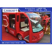 Buy cheap Climbing Ability by 15% Fire Engine Pumper Max.Speed 28km/h Electri Freight Car from wholesalers