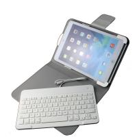 Buy cheap Mute dustproof Laptop iPad Keyboard Leather Case with 8 pin plug play product