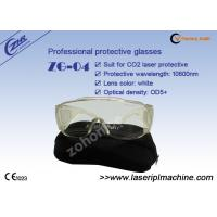 Buy cheap Safety OD 5+ Transparent CO2 Laser Beauty Equipment Protective Eyewear from wholesalers
