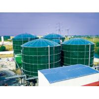 Buy cheap Smooth Glass Fused To Steel Tanks , Above Ground Fuel Storage Tanks AO Reactors product
