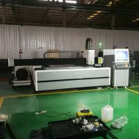 Buy cheap 6015 Fiber laser cutting machine 1500*6000mm for stainless steel carbon steel piping and sheet from wholesalers