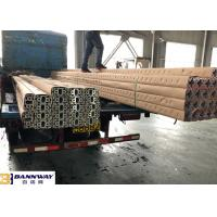 Buy cheap Customized T Shaped Aluminium Extrusion Clear Anodizing Surface Treatment from wholesalers
