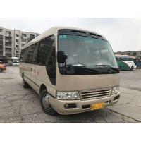 Buy cheap Golden Dragon Used Coaster Bus 2014 Year Gasoline Great Performance With 23 Seat product