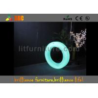 Buy cheap Illuminated Furniture Led Lighting Decorations , Led Circle Lights from wholesalers