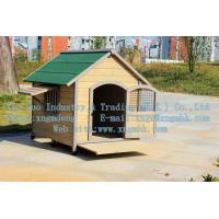 Buy cheap Wooden dog house, wooden kennel, wooden kennel, a waterproof wooden dog house from wholesalers