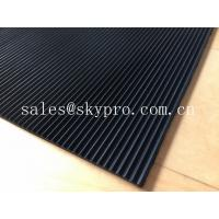 Buy cheap Flooring / gasket thick 3mm rubber matting , black rubber floor mats from wholesalers