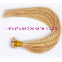 Buy cheap Remy hair pre bonded fusion hair extensions product