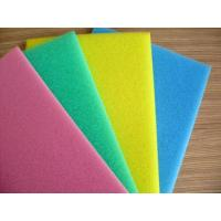 Buy cheap Pink / White Packaging Open Cell Foam Block Good Ventilation Fine Pored Dust Proof from wholesalers