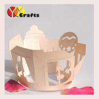 Buy cheap Baby Favors Laser Cut Cupcake Wrappers , Ivory Cupcake Liners from wholesalers
