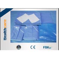 Buy cheap Sterile C - Section Disposable Surgical Packs With Mayo Cover Waterproof product