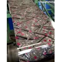 Buy cheap Home Appliance Pre Painted Steel Sheet Eco Friendly With Customized Pattern Printing from wholesalers