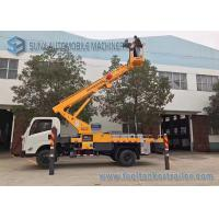 Buy cheap JMC 4x2 20m telescopic work platform high altitude operation truck from Wholesalers