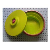 Buy cheap large silicone lunch box collapsible ,fashionable silicone partable lunch bowl product
