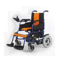 Buy cheap Comfortable Fold Up Electric Wheelchair , Powered Wheel Chairs CE Approved from wholesalers