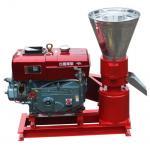 Buy cheap Diesel Flat Die Wood Pellet Machine from wholesalers
