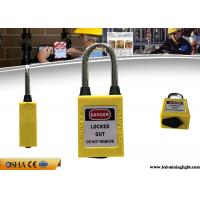 Buy cheap OEM 38mm Steel Dustproof Industrial Safety Lockout Padlocks with Key Alike from wholesalers