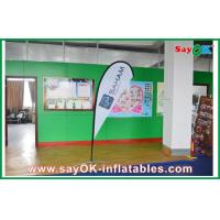 Buy cheap Advertsing Teardrop Flag Feather Customized With Logo Printing H 2.5m from wholesalers
