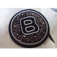 Buy cheap Iron Handmade Imitation Diamond Patches For Equestrian Clothing from wholesalers