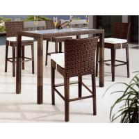 Buy cheap rattan leisure bar set-1012 from wholesalers