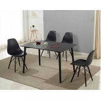 Buy cheap No Folded Rectangle Dining Center Coffee Table Set For Six Persons Use from wholesalers