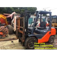 Buy cheap Hydraulic Systems Used Diesel Forklift Truck Good Working Condition product