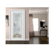 Buy cheap Door / Window Tempered Safety Glass American Style Clear Toughened Glass from wholesalers