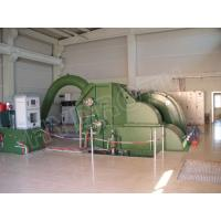 High water Head Pelton Hydro Turbine / Pelton Water Turbine with Synchronous Generator and PLC Governor
