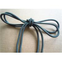 Buy cheap Colored Cotton Cord for garment Braided Fabric Waxed Cotton Cord for Shoelace from wholesalers