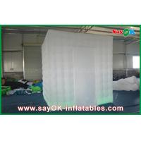 Buy cheap One Door Square Wedding Digital  Inflatable Open Air White Photo Booth from wholesalers