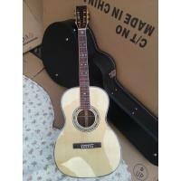 Buy cheap Top Quality 000 style classic acoustic guitar,AAA Solid Spruce top,China Factory Custom Super luxury guitar from wholesalers