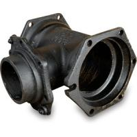 Buy cheap AWWA C153 Cast Iron Pipe Fittings Mechanical Joint Pipe Fitting MJ x MJ Tees product