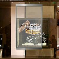 Buy cheap Shop Window Glass Wall LED Screen RGB 3.91-7.81 Pixels Full color SMD3512 from wholesalers