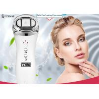 Buy cheap Portable Radio Frequency Face Lift Device , Ultrasonic Ion Face Beauty Stimulator from wholesalers