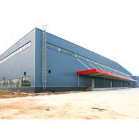 Buy cheap Large Span Metal Storage Buildings Glass Wool Sandwich Panel Equipped from wholesalers