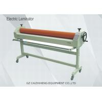 Buy cheap 1600mm Manual Vinyl Electrical Cold Wide Format Laminator With Two Roller product