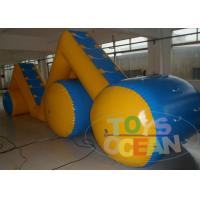 Buy cheap 10M Commercial Adults Inflatable Water Game Playground For Rental Waterproof from wholesalers