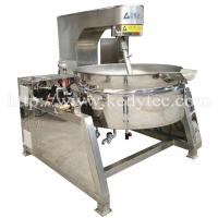 Buy cheap Tilting Steam Jacketed Kettle With Mixer/Agitator from wholesalers