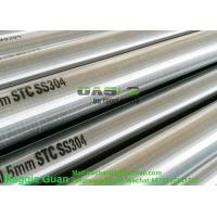 Buy cheap Johnson stainless steel Slot Continuous screen for sand control (customized) from wholesalers