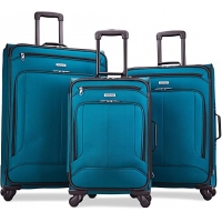 Buy cheap TSA Lock Aluminum trolley Spinner Wheels Softside Luggage from wholesalers