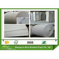 Buy cheap Two side Gray Paper Roll in 450gsm / 0.74mm for lamination to thicker board from wholesalers