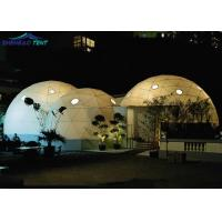Buy cheap Waterproof Customized Large Lightweight Geodesic Tent Dome For Event With Pvc Cover from wholesalers