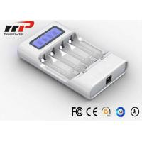 Buy cheap Intelligent AA AAA LCD Battery Charger 4 Slot NIMH NiCad Batteries CE from wholesalers