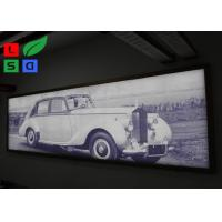 Buy cheap IP65 Waterproof Frameless LED Lightbox , Snap Frame Backlit Fabric Lightbox In Public from wholesalers