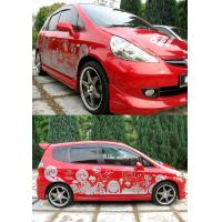 Buy cheap Logo Printed Pvc vinyl Auto Body Decals , trunk bumper / automotive graphics decals from wholesalers