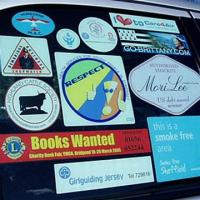 Buy cheap car sticker/ static cling/ static sticker/ window sticker from wholesalers